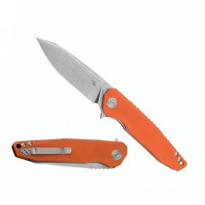 3504 Folding Knife Extended Strong D2 Blade Orange G10 Handle Best Outdoor Camping Hunting Survival Pocket Knives