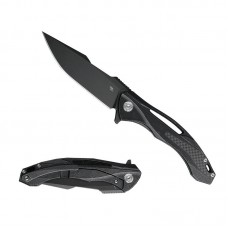 3519 Folding Knife Variety Exclusive S35vn Black Blade Black Titanium Handle Best Outdoor Camping Hunting Survival Pocket Knives
